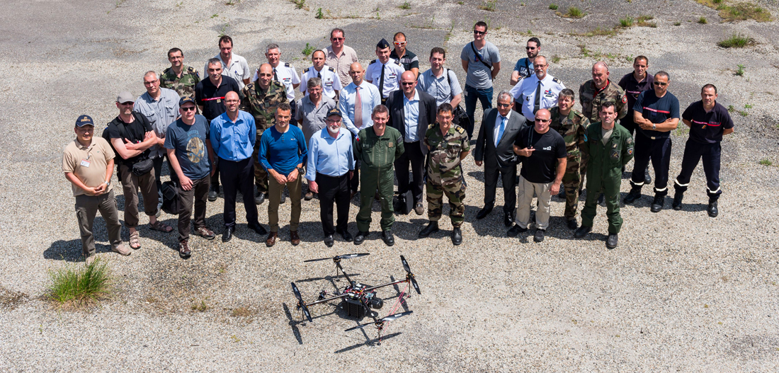 MAI 2016 - First to launch a fuel cell powered MULTIROTOR in France